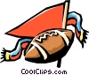 football game Vector Clipart graphic