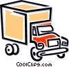 truck Vector Clipart graphic