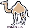 camel Vector Clip Art graphic