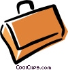 briefcase Vector Clip Art graphic