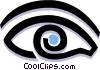 Vector Clipart illustration  of a eye