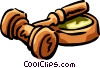 gavel Vector Clipart graphic