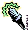 sparkplug Vector Clip Art graphic