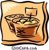 Vector Clipart graphic  of a fresh produce