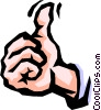 thumbs up Vector Clip Art image