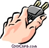 Vector Clipart illustration  of a plug