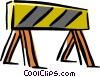 Vector Clipart picture  of a danger sign