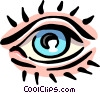 Vector Clipart illustration  of a eye