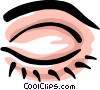 Vector Clipart image  of a eye