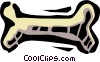 Vector Clipart picture  of a bone