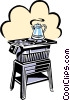 stove Vector Clipart image