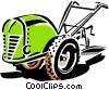 Vector Clipart image  of a plow