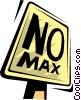 Vector Clipart illustration  of a street sign