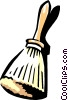 barber's broom Vector Clip Art image
