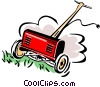 lawn mower Vector Clipart picture