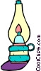 Vector Clipart illustration  of a candle