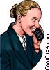 cellular communications Vector Clipart picture