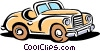 Vector Clipart illustration  of an automobile