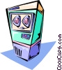mainframe computer Vector Clip Art graphic