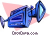 video camera Vector Clipart image