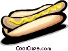 hot dog/frankfurter Vector Clip Art picture