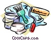 painter's tools Vector Clip Art picture