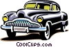 late model automobile Vector Clip Art picture