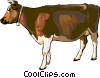 Vector Clipart picture  of a cow
