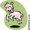 Vector Clip Art picture  of a lamb