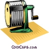 Pencil sharpener Vector Clip Art image