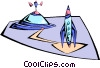 spacecraft Vector Clipart picture