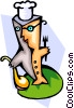 food industry/chef Vector Clip Art image