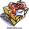 Christmas gift Vector Clip Art image
