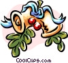 Christmas decorations/bells Vector Clipart picture