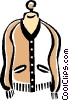 Vector Clipart image  of a sweater
