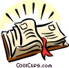 Vector Clipart illustration  of a holy bible