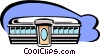 diner Vector Clip Art graphic