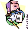 post office Vector Clipart image