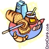 Vector Clipart image  of a Loaf of bread