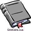 book Vector Clipart graphic