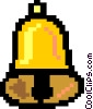 Vector Clipart image  of a bell -symbol