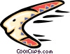 Vector Clip Art picture  of a boomerang - cartoon