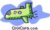 cartoon shuttle Vector Clip Art image