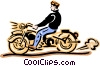 motorcycle Vector Clip Art picture
