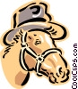 Vector Clip Art picture  of a horse