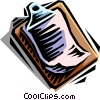 Vector Clipart illustration  of a clipboard