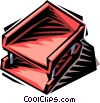 in-out box Vector Clip Art image