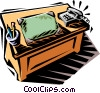desk Vector Clip Art picture