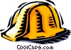 Vector Clipart illustration  of a hard hat