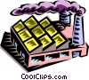 Vector Clipart graphic  of a industry